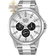ALBA นาฬิกาข้อมือผู้ชาย สายสแตนเลส รุ่น Ap6473X1