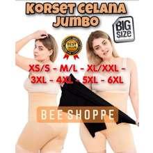 Munafie Korset Celana Jumbo Big Size Underwear Dalaman Wanita Jumbo Melar Import Ready Stock
