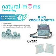 Natural Moms Cooler Bag (Polka, Tokyo, Cookie, Panda, Velvet, Phoenix, City Light )