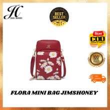 Jims Honey Flora Mini Bag Jimshoney Tas Wanita Import Ori Murah Elegan Minimalis Hp Handphone Kecil Hangout