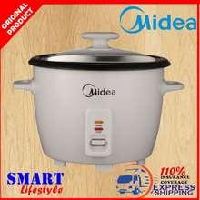 Midea 1.8L Conventional Rice Cooker Mg-Gp18B Periuk Nasi Removable Lid Aluminium Inner Pot