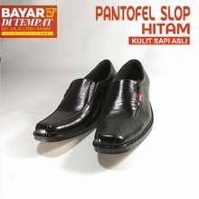 Kickers Kickers-Sepatu Kulit Pantofel Kantor Kerja pria Murah bahan kulit  sapi asli-hitam 0ffc2ed34f