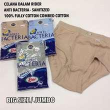 Rider [3Xl] Anti Bacteria Jumbo/Big Size - Celana Dalam Pria Jumbo / Pakaian Dalam Pria