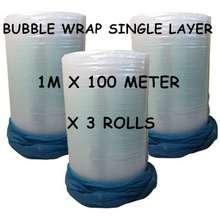 Bubble Wrap Single / Double Layer X 3 Rolls