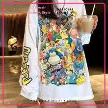 BTS T-Shirt Tumblr Tumbler Tee Kaos Lengan Panjang BTS Oversized Wanita
