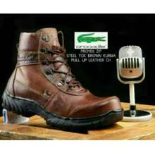 crocodile Boot Safety /Sepatu Kulit Pria