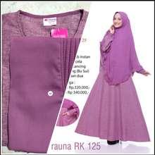 Baju Muslim Muslimah Rauna Original Model Terbaru Harga Online Di Indonesia