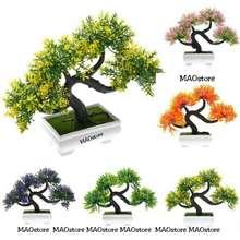 bonsai pajangan hiasan artificial flower kembang plastik pohon pot e44558090e