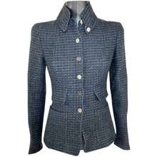 Chanel anthracite Tweed JACKETS