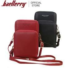 Baellerry New Daily Use Card Holder Shoulder Bag For Women Big Size Wallet Ladies Crossbody Bag