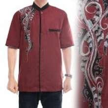 Koko Cj Collection Baju atasan kemeja batik pria jumbo shirt Afshar (Int:L, …)