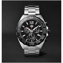 6381d778b66 TAG Heuer Formula 1 Chronograph 43mm Stainless Steel Watch Black