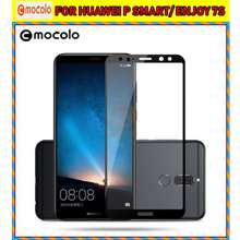 SALE Huawei MOCOLO FULL COVER WARNA 2,5D Tempered Glass P Smart/ Enjoy 7S