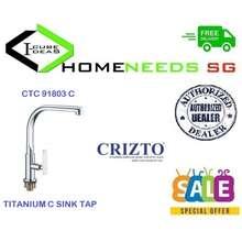 CRIZTO CTC-91803-C Titanium-C Sink Tap Material : Brass Free Delivery