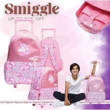 Smiggle Kado Anak Original Tas Backpack Junior Frozen 2 Elsa Anna Far Hoodie Unicorn Express Panda