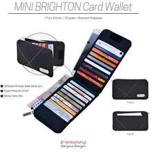D'renbellony Mini Brighton Card Wallet / Dompet Kartu / Card Holder / Organizer Kartu