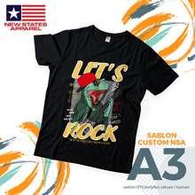Impor Tshirt Nsa Custom Sablon Satuan Ii Tshirt Ii Tshirt Premium Ii Sablon Texs L