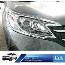 JSL Garnis Depan Grand All New CRV Head Lamp Garnish Chrome