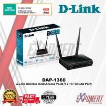 D-Link Dap-1360 - Wireless N300 Access Point [1 X 10/100 Lan Port]