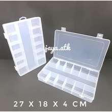 MC Kotak Penyimpanan Tempat Sekat Plastik Serbaguna Kotak Perhiasan 06