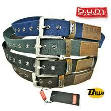B.U.M. Equipment B.U.M Equipment Canvas Belt (Ybb016-C1-40320)
