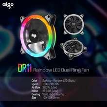 aigo Dr11 Rainbow Led Dual Ring Rgb Fan