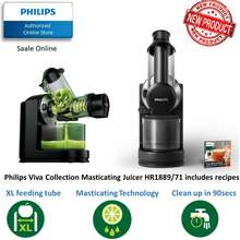 Philips HR188971 Viva Slow Juicer with