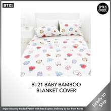 BT21 🇰🇷 [Ready To Ship] Baby Blanket + Pillow Cover