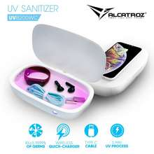 Alcatroz Uv Sanitizer Box With Wireless Charging/ Disinfection/ Aromatherapy/ Humidification