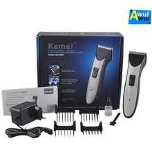 Clipper kemei hair alat cukur rambut elektrik professional trimmer 4c8bb4ed2e