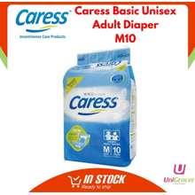 Caress Basic Unisex Adult Diapers M10