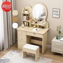 Gdeal Minimalist Nordic Bedroom Dressing Table Small Apartment Dresser Vanity Table Meja Solek ميجا سوليق