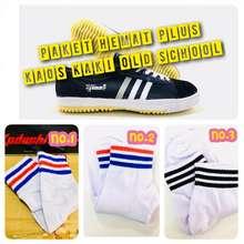 Kodachi Sepatu 8111 Hitam-Putih Paket Hemat Plus Kaos Kaki Old School Product