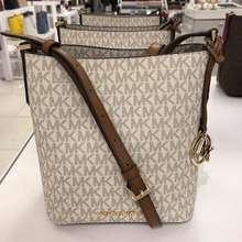 Michael Kors Tas Mk Kimberly Small Bucket Bag Vanilla New Original