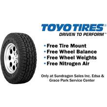 TOYO 265/65 R17 120R Open Country A/T 2 (OPAT2) All-Terrain Tire