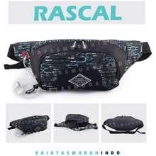 Gear Bag Rascal Port -13106 - Waistbag With Earphone Hole Bb - Tas Selempang Pria Tas Pinggang