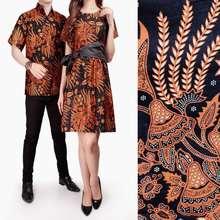 Dress Elite Cj collection Couple batik dress maxi pendek wanita mini dress dan atasan kemeja pria
