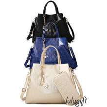 Lulugift Us Style 2 In 1 Ladies Multifuctioned Handbag With Wallet