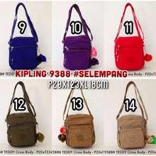 Kipling tas selempang kecil 9388 pria cowok cewek 6 ruang 66703a8d24