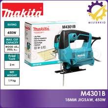Makita M4301B, 18Mm Jig Saw 450W Variable Speed, 3-Orbital Settings