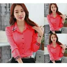 kedai_baju Kedai baju blouse wanita murah berkualitas / blouse murah / blouse hem angel pink-