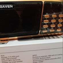 CRAVEN Loa Nghe Học Ngoại Ngữ Cr853 (3 Pin, 2 Khe Cắm Thẻ, 1 Cổng Usb)