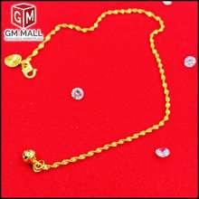 Emas korea [LazChoice] Jewellery - Rantai Kaki Gila-Gila Gold Plated (Anklet EK-3001-6) For Women