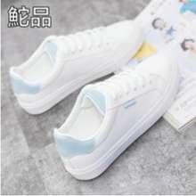 Beier [Sovella] - Pamelo Sepatu Sport Import Putih Biru Sepatu Sneakers