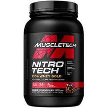 3efda906c Muscle Tech Nitro Tech 100% Whey Gold Double Rich Chocolate 2.24 lbs (1.02  kg