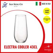 Bormioli Rocco San Seng Electra Cooler 43Cl crystal glass Set of 6 whiskey glass wine glass cocktail glass drink cup