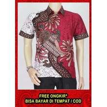 Azka Batik Kemeja Batik Pria Kemeja batik pekalongan Kemeja Batik Kantor  Kemeja Batik Kerja Motif Sekar ae414eef92