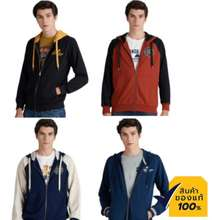 Mc Jeans Mc Jeans เสื้อฮู้ดดี้ Mjhp0 Unisex รุ่น ขายดี 4 รุ่น เสื้อกันหนาว