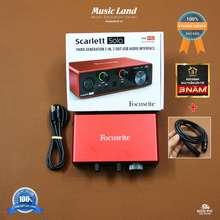 Focusrite Sound Card Âm Thanh Solo (3Rd Gen) – Chính Hãng