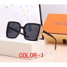Louis Vuitton Stylish New Versatile Polarized Sunglasses For Ladies With Square Frame Travel Driving Selfie Glasses